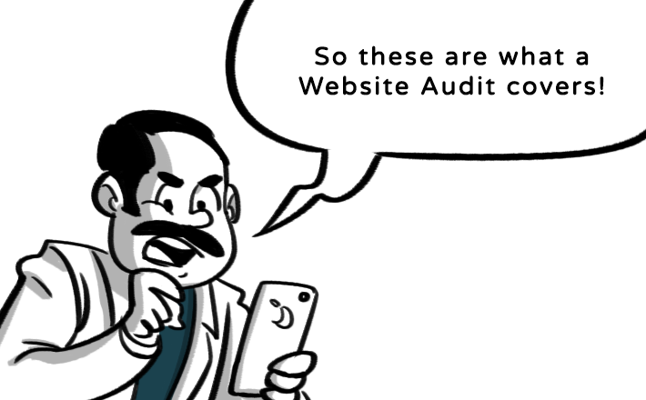 What a website audit covers?