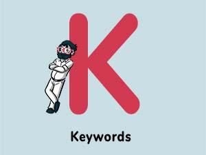 Word of the Day : Keywords [Digital Marketing acronyms 2021]