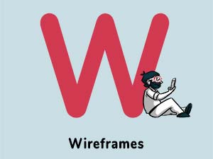 Wireframes curated by thedigitalfellowacademy