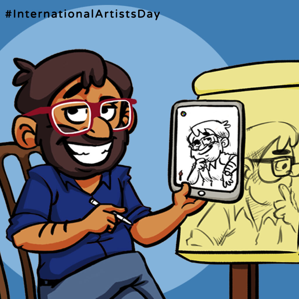 Artists Day is celebrated by Thedigitalfellow