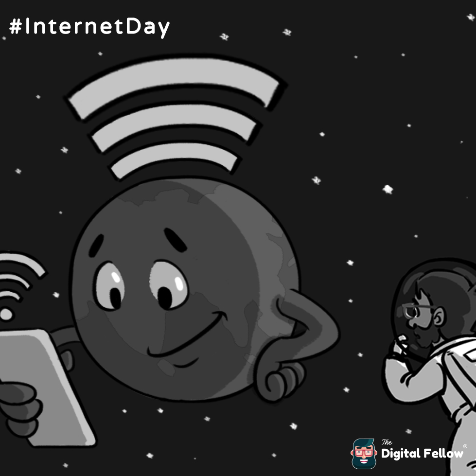 Internet Day is celebrated by Thedigitalfellow